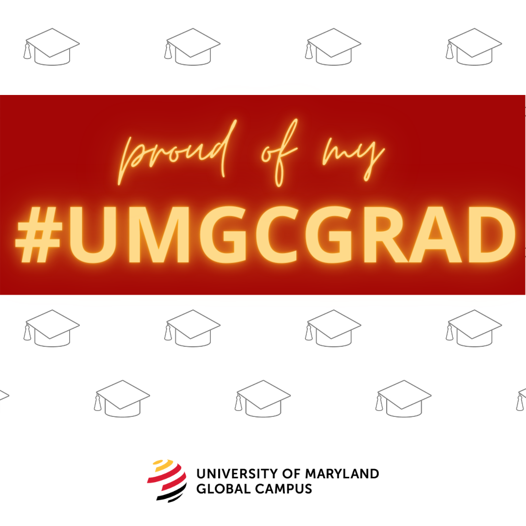 Proud of my #UMGCGRAD: Social media toolkit image 1 for Instagram feed posts